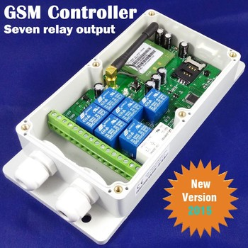 GSM remote controller Seven output channel