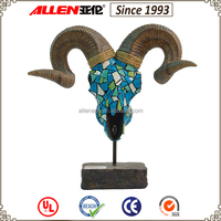 Cheap Chinese Beautiful Design Goat Head Statue For Sale