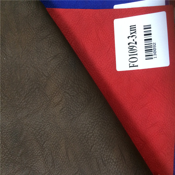 New PU Leather Raw Material For Shoe Making ( PU cuero sintetico )
