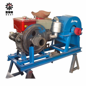 Excellent wood chips hammer mill, mobile wood grinder, sawdust wood crusher machine for sale