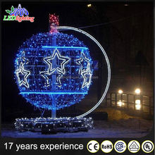 HOT waterproof Christmas decorative LED light ball