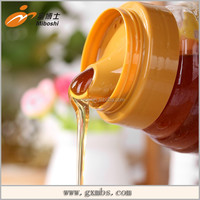 Pure 1 kg honey in bottle