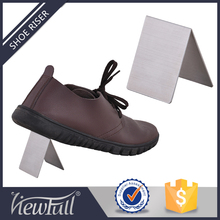 New Arrival triangle shoe rack display for man shoe