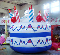 new giant cake model picture inflatable event birthday cake