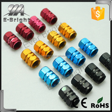 2016 Newest auto Car Tyre Valve Cap Cover 4pcs Zinc alloy Auto Tire Wheel Rims Stem Air Valve Caps, pressure tire valve cap