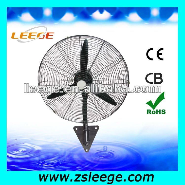 home appliances wall mount oscillating fan parts with CE ROHS