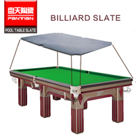 Stone nature slate 8ft Billiard snooker quartz stone pool table slab slate