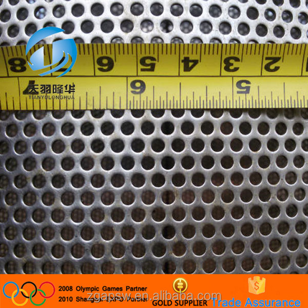 Perforated stainless steel with high quality
