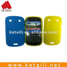 high grade Silicone mobile phone cover for BB 9900/different colors