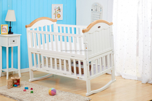 Chinese export baby bed junior bed cot/baby cot bed prices