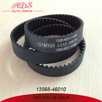 good quality rubber open ended timing belt for TOYOTA china manufacturers factory OE: 13568-46010