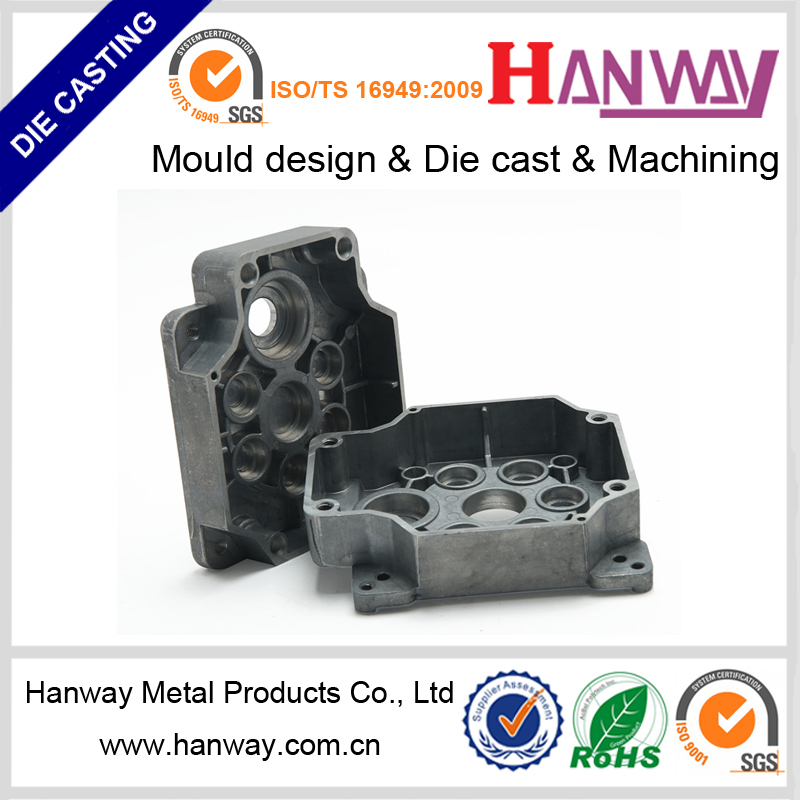 Guanddong manufacture custom aluminum die casting injection molding service housing