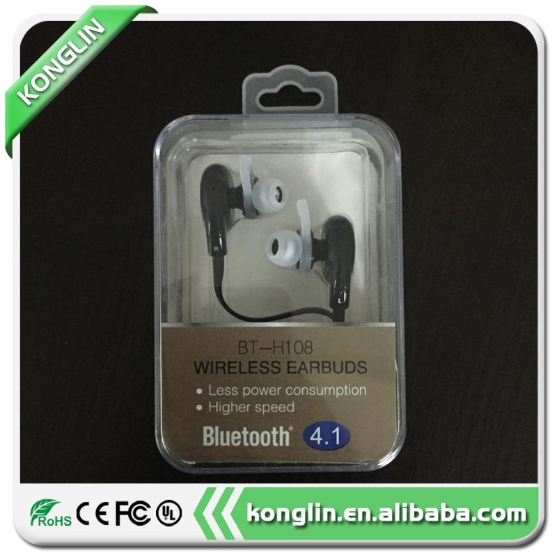 Latest trending foldable wireless bluetooth headphones in-ear running stereo earbuds BT-H108 with low price