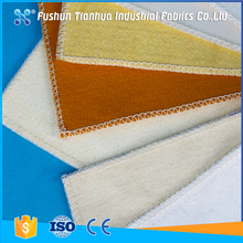 High temperature resistance nonwoven dust air filter fabric cloth
