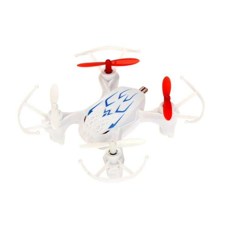 141113-2.4G 4CH 6-Axis Gyro RTF Nano Drone RC Quadcopter With LED Light For Child Gifts