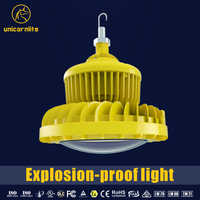 China factory ATEX approval LED explosion proof high bay light 120w
