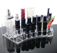 hot sale high-quality acrylic transparent nail polish lipstick storage box
