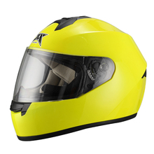 Custom graphic full face single visor suitable for motor and scooter