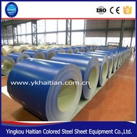 Prepainted GI steel coil , PPGL color coated , galvanized steel sheet in coil