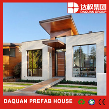 prefabricated steel structure building/luxury prefabricated house/villa