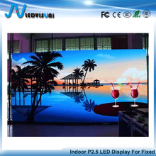 P2.5 Super HD Indoor Fixed LED Screen Wall For Stage Background