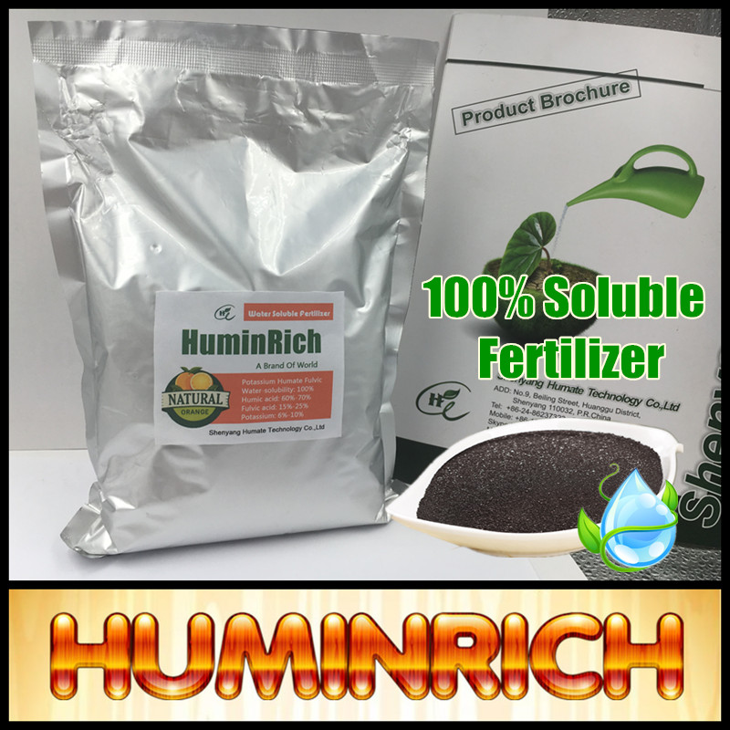 Huminrich Shenyang 60HA+20FA+14K2O Supreme Brand Names Chemical Fertilizers