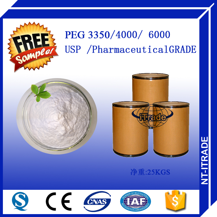 Capsule Secondary Solvent PEG 4000 For Medicine