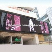 tv 20X3m P10 outdoor full color electronic video panel
