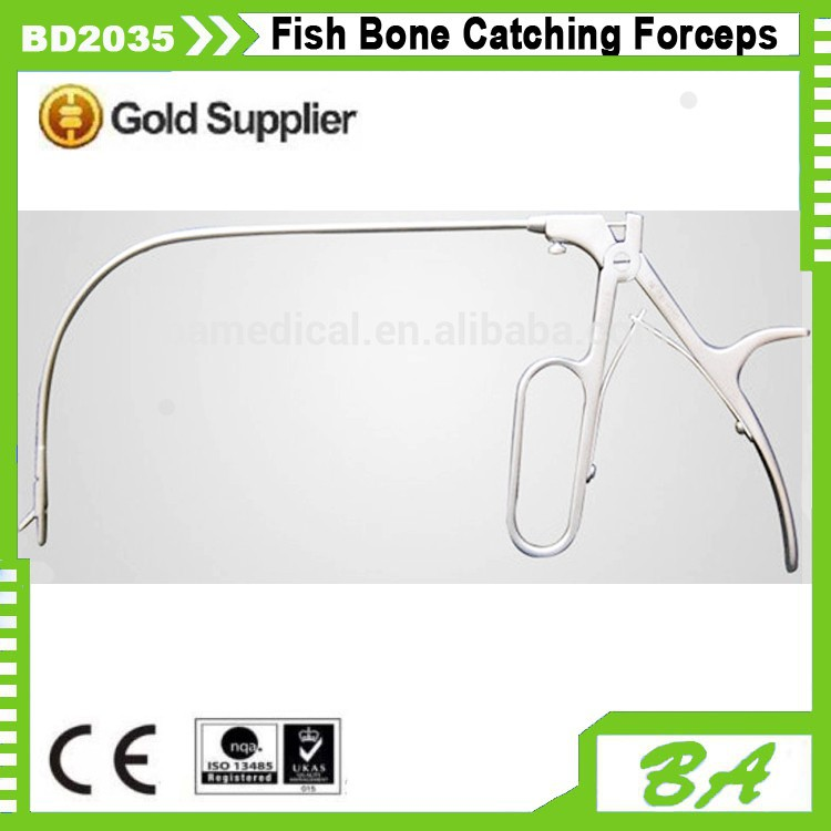 Fish Bone Catching Forceps/Laryngeal surgery Forceps/surgical forceps