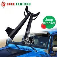 2015 New led bar light mounting bracket,Jeep JK 50'' led bar light mounting bracket
