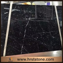 2017 hot sale Chinese black marble with white veins