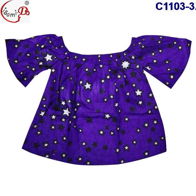New arrival HOt Sale Summer season High quality purple color dashiki clothes popular women bazin clothes on sale