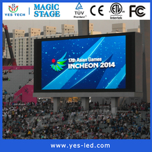 P6 Super slim hd outdoor full screen pixel pitch 6mm outdoor led display electronic manufacturer