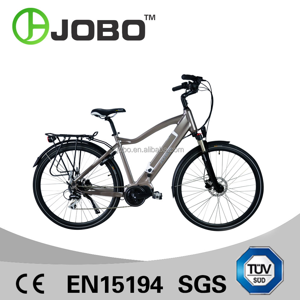 JOBO 700C Mid Motor Electric Bike Holland Design Road Bike Electric