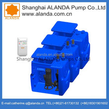 Automatic ALANDA Waste Water Pump Station, Sewage Lifts Station With Easy Installation