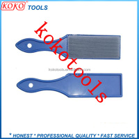 plastic handle needle cloth brush steel file cleaner
