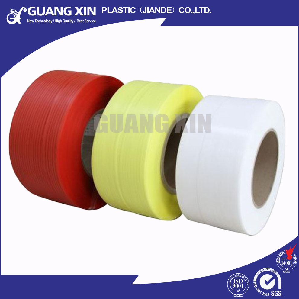 best price high quality PP PET transparent colored strapping polyester