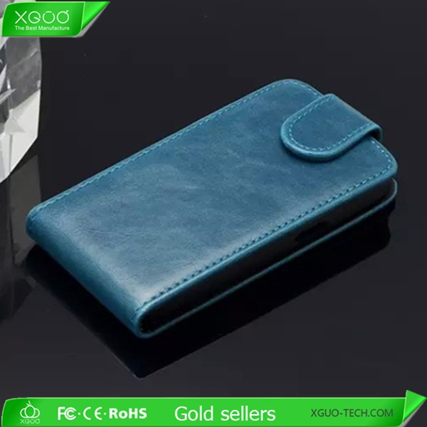 leather flip cover case for samsung g357