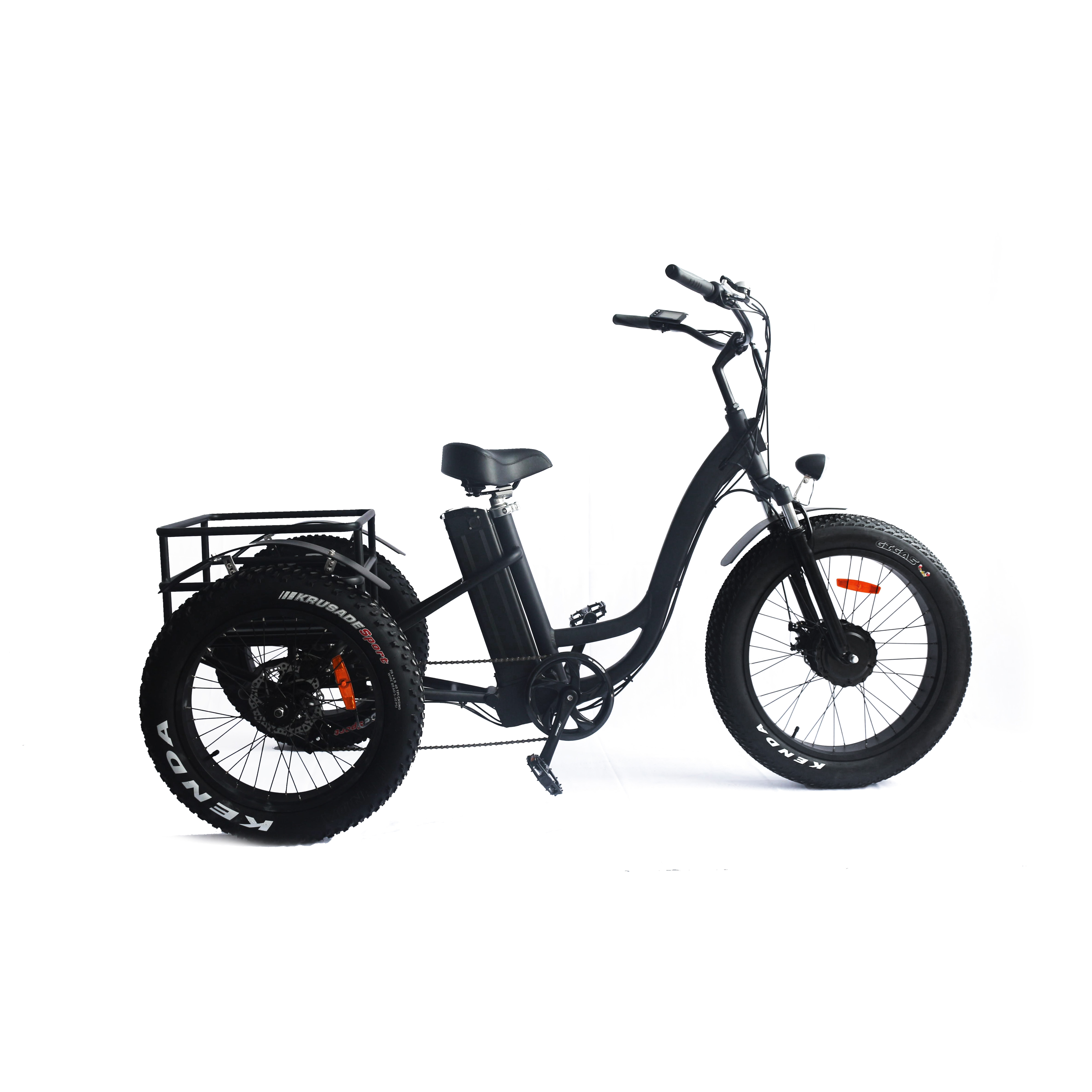 2018 adult boosted electric tricycle for wholesale <strong>price</strong> with basket