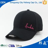 New Arrival Fall Unisex Baseball Cap/Hat With Removable Logo Cap/Hat