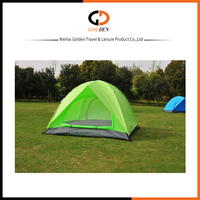 Silver Coated Outdoor Family garden tent, inflatable dome tent for sale, Camping Tent