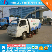 3CBM mini street cleaning vacuum road sweeper truck for sale