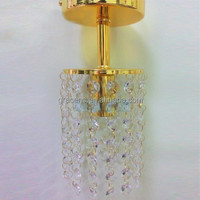 USA Delivery 2015 Luxury Crystal Chandelier Light Gold with 3 Year Warranty D100mm H230mm GRC-P01NG