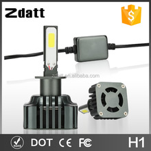 Zdatt 9600lm h1 led headlight bulb replacement auto bulb h1 for car truck motocycle