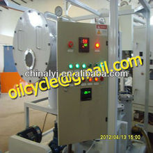 Industrial small capacity waste used engine oil recycling/refining machine