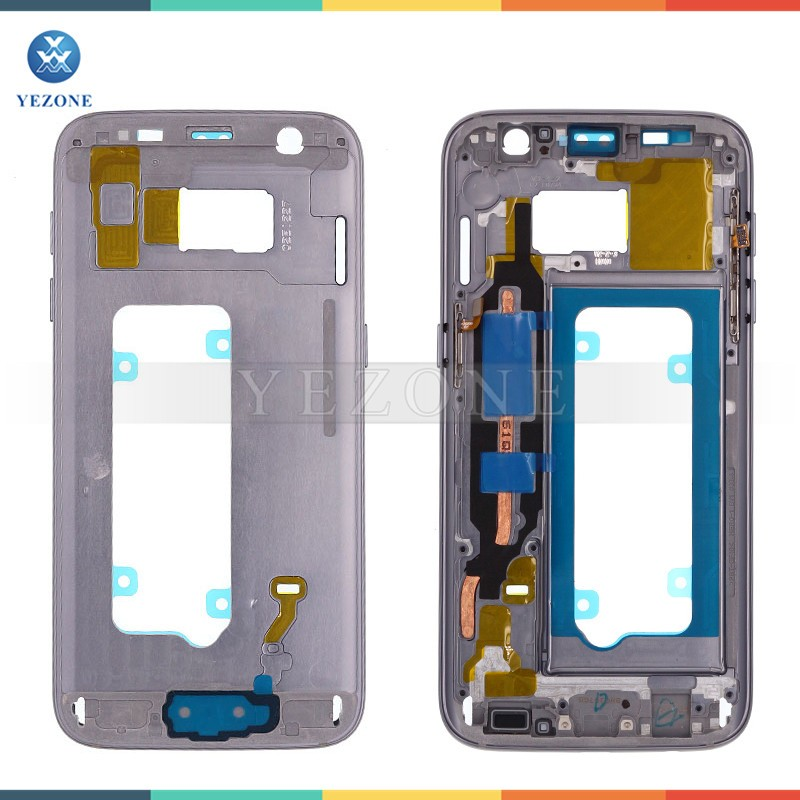 Wholesale For Samsung Galaxy S7 G930 G930F G930A Front Bezel Back Middle Frame Housing
