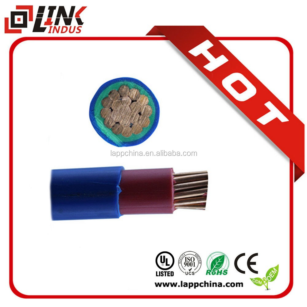 Outdoor double protect sheath full copper electrical cable/ electric wire copper