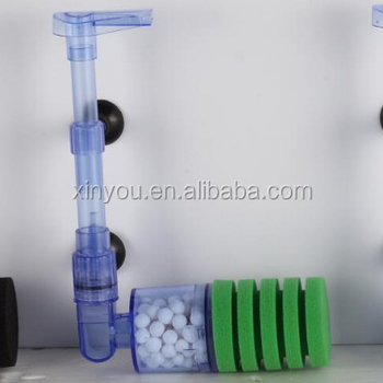 2018 new-style LVNENGJIA water sponge filter without pump LN10
