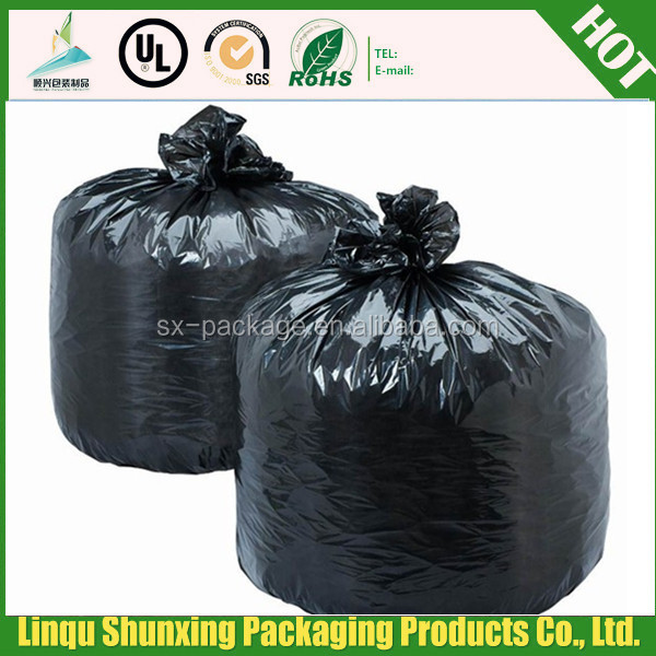 perforated garbage bag/jumbo garbage bags/ldpe garbage bag