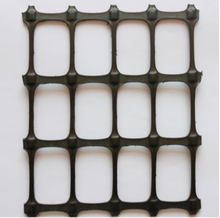 highway construction material biaxial geogrid for road construction